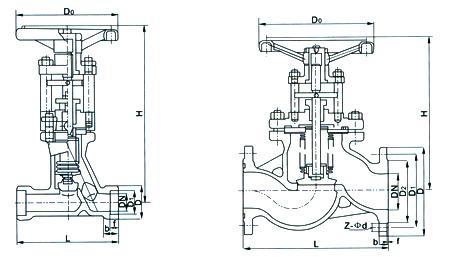 蒸汽减压阀内部结构图